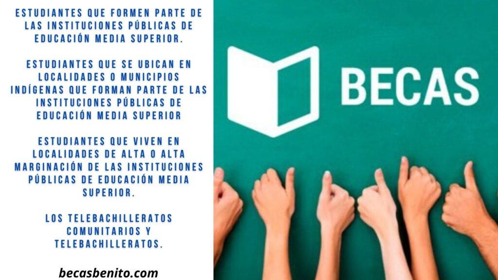 candidatos becas Benito Juárez