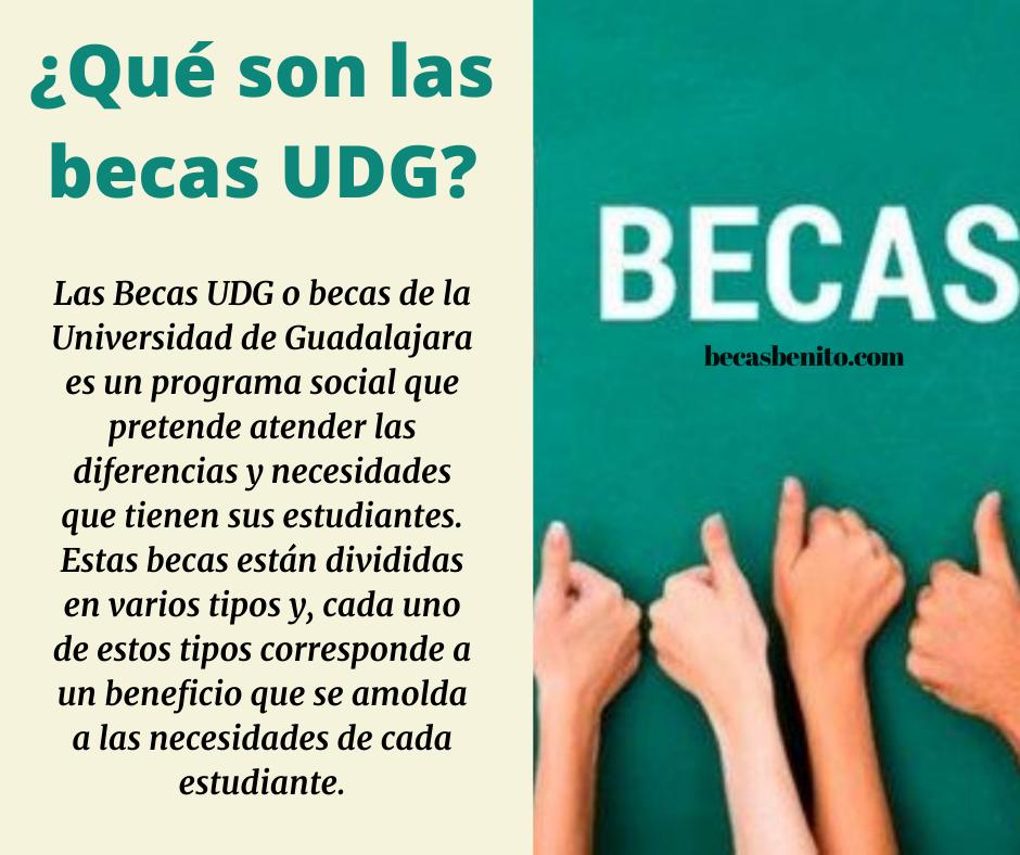 becas UDG