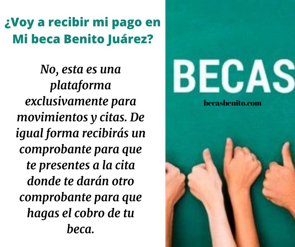Mi Beca Benito Juárez plataforma